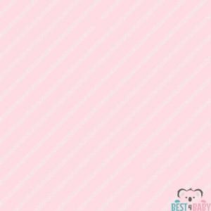 Rózsaszín, fehér csíkos-pöttyös tapéta