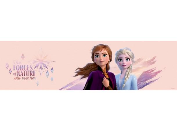 Jégvarázs bordűr, Anna és Elsa, 14 cm