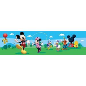 Mickey egér bordűr, 14 cm
