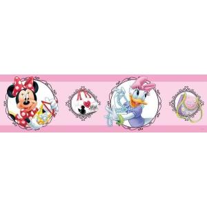 Minnie egér és Daisy kacsa bordűr, 14 cm