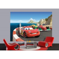 Verdák autóverseny poszter